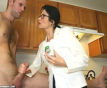 Mom Demands Cum From Johnny